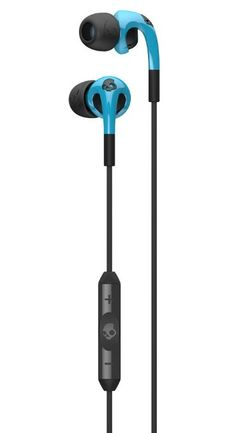 Amazon.com: Skullcandy Fix In-Ear Headphone with 3-Button Remote  Mic - Hot Blue / Black: Electronics