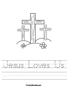 Worksheets Bible Worksheets For Preschoolers pinterest the worlds catalog of ideas jesus loves us worksheet that you can customize and print for kids