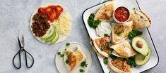 Taitellut tortillat   Pääruoat   Reseptit – K-Ruoka Fresh Rolls, Tapas, Food And Drink, Ethnic Recipes