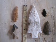 Authentic Indian arrowheads by threeGGGs on Etsy, $50.00