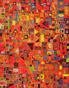 "Saatchi Art Artist Krzysztof Pajak; Painting, ""Internectus"" #art"