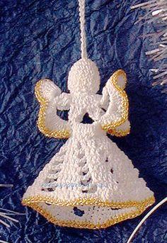 Pequeno anjo de Natal pontosdaana.blogspot.com