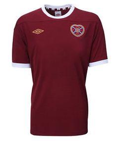 38865fcb2 Hearts Football Shirt Heart of Midlothian Jersey Retro New Mens 2012 This  Season