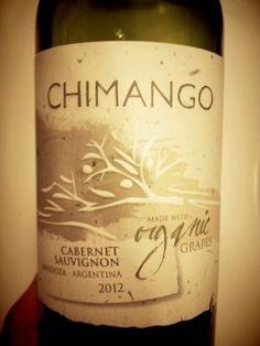 Nice organic wine