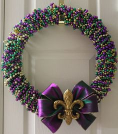 Now I know what to do with all those old Mardi Gras beads