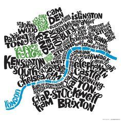 English neighborhoods