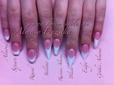 Perfect Nails - Lake Forest, CA, United States. Vivian helped me get the Edge nail shape perfectly!