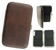 Metro Mini Metropolitan Designer Wallet Hard Case / Credit Card Case - CHOOSE COLOR
