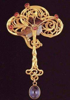 Broche Art Nouveau - Georges Fouquet
