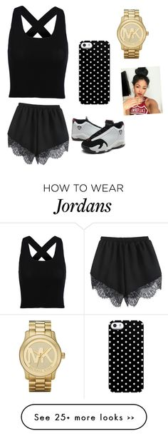 """""""A Day To Shop ."""" by fashionismyrunway19 on Polyvore featuring Uncommon and Michael Kors"""
