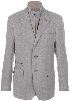 Corneliani double collar blazer on shopstyle.com