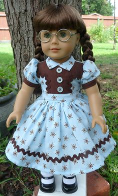 Reserved Listing 1940s Style Play Dress Fits by Designed4Dolls, $24.95
