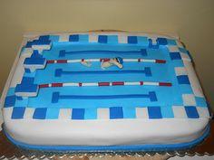 Tortemania: Torta Piscina - Swimming Pool Cake