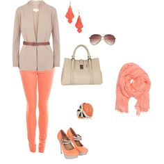Tangerine Heaven, created by kkathryn33 on Polyvore