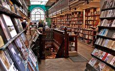 Daunt Books for Travellers, Marylebone High Street, London, UK