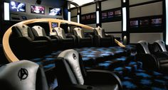 star-trek-home-theater how cool would it be if the seats moved to go with whatever you were watching