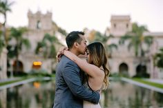Balboa Park Engagement Photos: A Walk in the Park | Exquisite Weddings