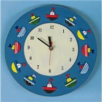 Boat Clock Clock, Boat, Wall, Bedroom, Home Decor, Watch, Dinghy, Decoration Home, Room Decor