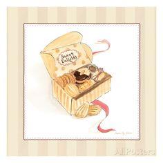Sweet Delights Stampa d'arte