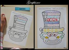 Circus Decorations, Tapas, Preschool Printables, Pre Writing, Classroom Inspiration, School Supplies, Activities For Kids, Bullet Journal, Clowns