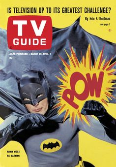 TV Guide, March 26, 1966: Adam West of Batman