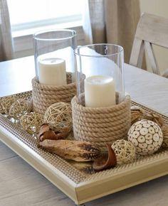 Nautical candle idea