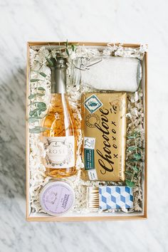 A Charming Bubble Bath Gift Box! - Sugar and Charm - sweet recipes - entertaining tips - lifestyle inspiration