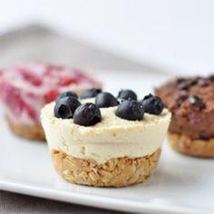 Baked Mini Cheesecakes