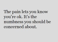 The Pain Lets...