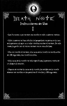 Reglas de uso de Death note Capítulo 0 página 2 - Leer Manga en Español gratis en NineManga.com