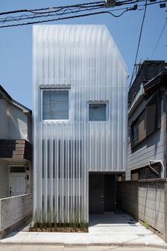 House in Kikuicho,Courtesy of  studio noa