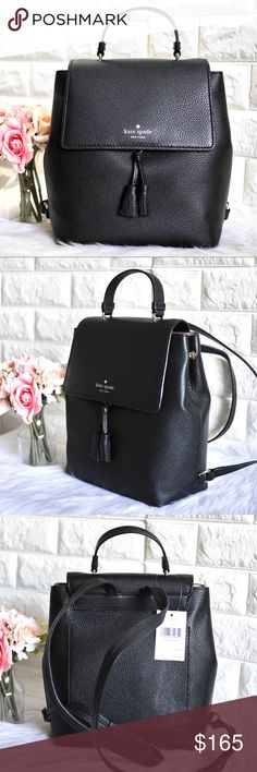 NWT Brighton Your Bag CROCHET Black//Atlantic Blue Strap Purse Leather  MSRP $70