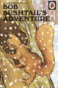 BOB BUSHTAILS ADVENTURES a Vintage Ladybird Book Animal Rhymes Series 401 Matt £7.95