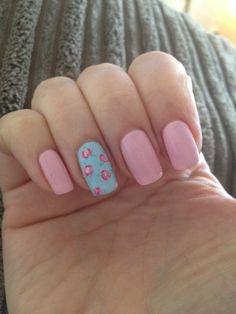 My Cath Kidston nails xXx