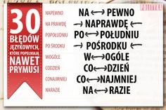 Aa School, Polish Language, Self Improvement, Grammar, Activities For Kids, Psychology, Infographic, Homeschool, Knowledge