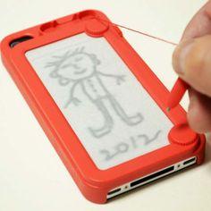omg a iphone case??? coool