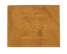Nebraska Cornhuskers Embossed Passcase - Script Logo