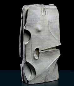 Relative to the general trends at this time, Fantoni pushed the bounderies with his bold interpretations in ceramics of the cubist artists such as Picasso and Braque. Glass Ceramic, Ceramic Clay, Ceramic Painting, Ceramic Pottery, Pottery Art, Ceramic Sculpture Figurative, Abstract Sculpture, Sculpture Art, Modern Ceramics