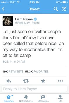 Why do people always wanna pick on Liam now. Glad he's sticking up for himself love you Liam <3 <3 <3 <3