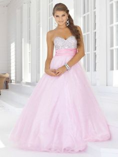 Stock Women Evening Formal Gown Party prom Pale pink Wedding Dress Size 6 -16