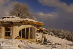 Simon's straw bale woodland home in Wales