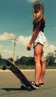 Summer bucket! Learn to skate board
