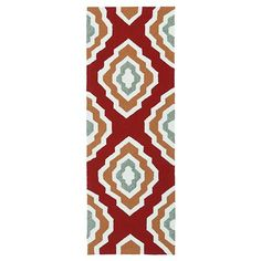 "• sturdy hand-tufted polypropylene construction<br>• latex backing<br>• medium pile (less than 1"")<br>• various size and color combos<br><br>Indoors or out, friends and family will love your Kaleen Rugs Escape Diamond Indoor/Outdoor Rug. Its all-weather design is fade-resistant, skid-resistant, slip-resistant and weather-resistant. But it's not resistant to the pleasing comments you'll get on how fabulous it l..."
