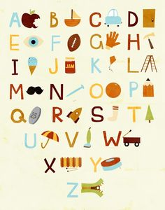 more nursery ideas Letras Abcd, Alphabet For Kids, Alphabet Nursery, Nursery Room, Baby Room, Doodle Characters, Hanging Letters, Nursery Inspiration, Nursery Ideas