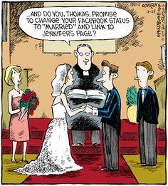 Love in the times of social media!  #social media # facebook