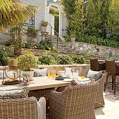 Divide Your Space - 20 Outstanding Outdoor Dining Rooms - Coastal Living