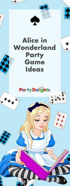 Throwing an Alice in Wonderland party or Mad Hatter's tea party? Browse our Alice in Wonderland party games and activities for fun ways to keep your guests entertained! Perfect for a kids' party, hen party or baby shower.