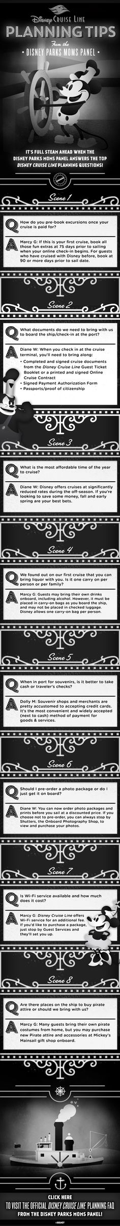 Helpful tips from the Disney Parks Moms Panel!