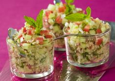 Taboulé au quinoa, concombre et tomates | Croquons La Vie - Nestlé