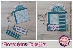 """Teacher In Wonderland: """"Mompitzige Einmaleins-Tabelle"""""""